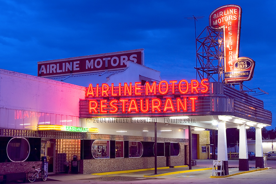 Airline Motors Restaurant, LaPlace, Louisiana Neworleans