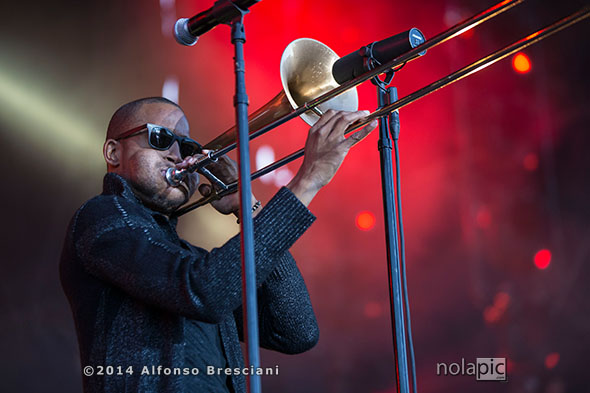 Troy Trombone Shorty Andrews 2014 Voodoo Music + Arts Experience - Day 3