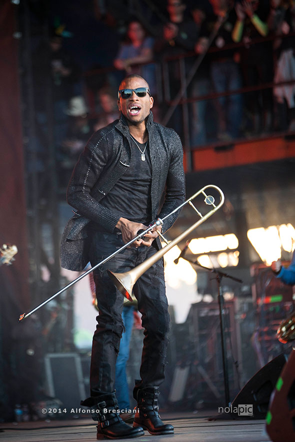 2014 Voodoo Music + Arts Experience - Day 3 Troy Trombone Shorty Andrews