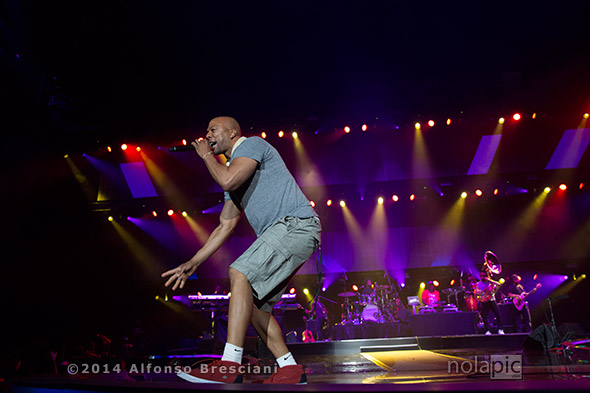 Grammy Award winner Common at Essence Fest in New Orleans. © 2014 Alfonso Bresciani. To license images from this event please contact ZUMAPress.com
