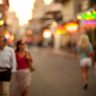Dreamy Bokeh, Mississippi River and French Quarter Pictures