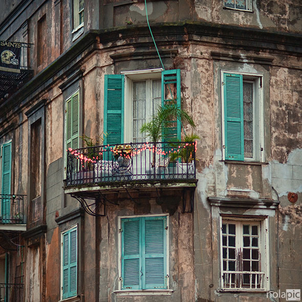 prints of Maison LeMonnier in the French Quarter of New Orleans