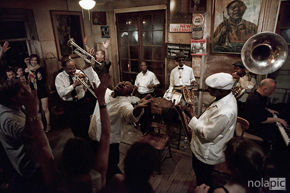 Fine Art Prints of Treme Brass Band at Preservation Hall photo