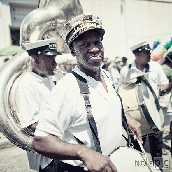 Treme Brass Band Leader, Mr. Benny Jones Sr.