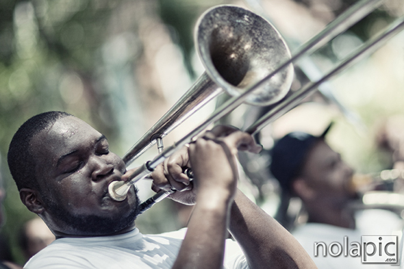 "Edward ""Juicy"" Jackson from To Be Continued Brass Band"