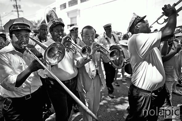 Treme Brass Band and Japanese Satchmo Yoshio Toyama