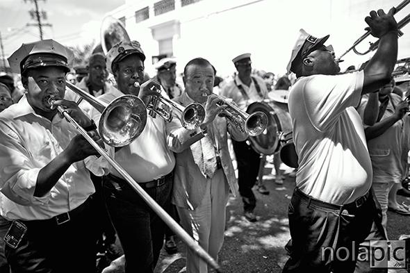 Treme Brass Band and Japanese Satchmo Yoshio Toyama
