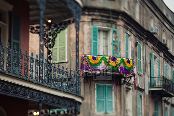 Maison LeMonnier in the French Quarter of New Orleans