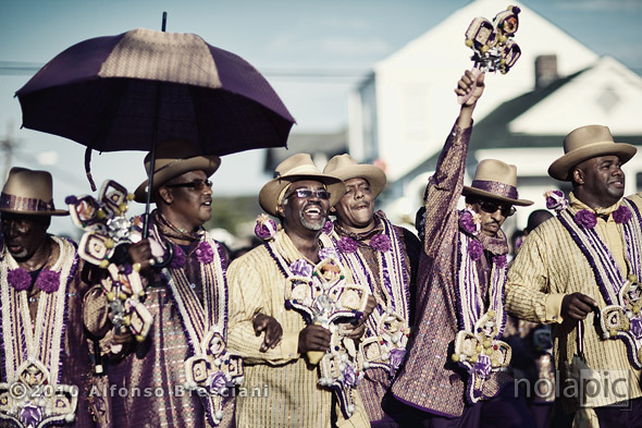 second line prints new orleans