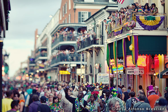 prints of bourbon st new orleans