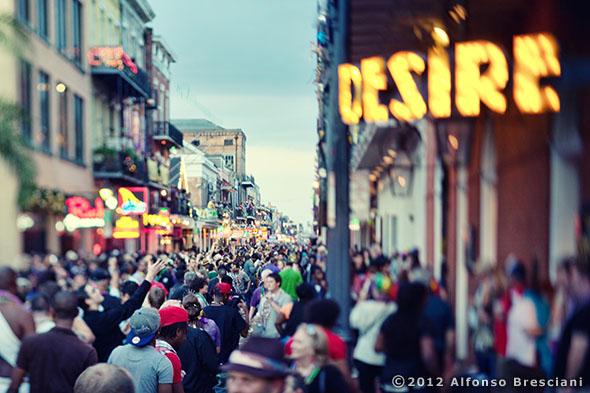 mardi gras photography print bourbon street