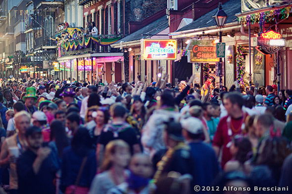 bourbon street photo for sale