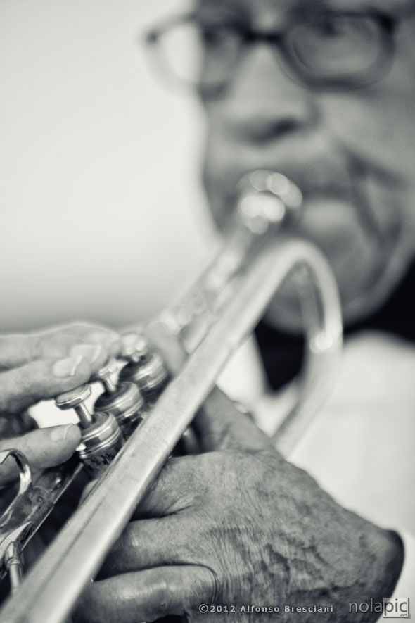 Pictures of Jazz Black and White New Orleans Lionel Ferbos