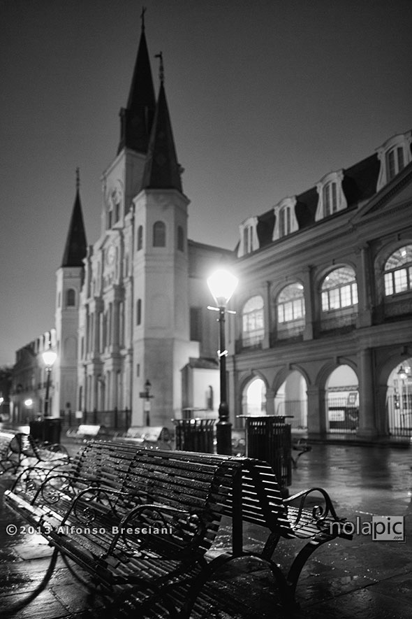 St Louis Cathedral in the French Quarter