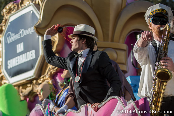 Ian Somerhalder and Chet Overall on Endymion