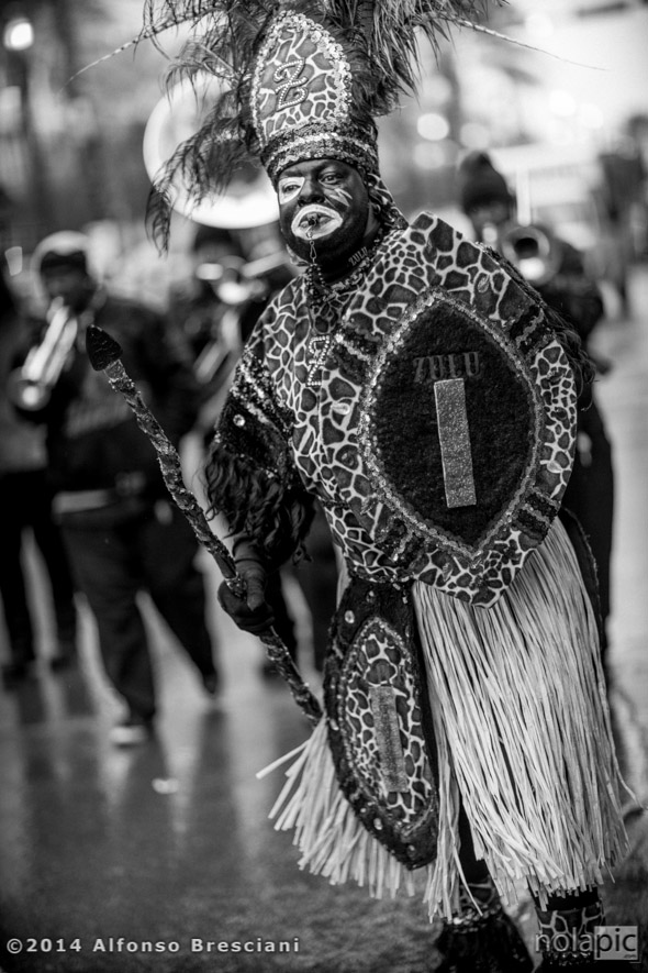 Zulu Mardi Gras New Orleans
