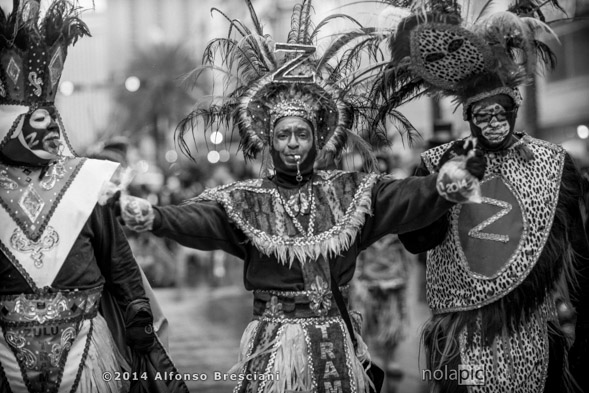 Krew of zulu New Orleans Mardi Gras 2014