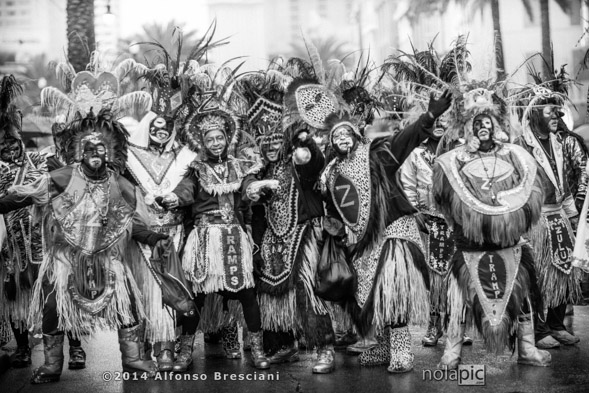 New Orleans Black and White Photography of Zulu