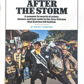 "Cover on ESPN Magazine's ""After The Storm"""