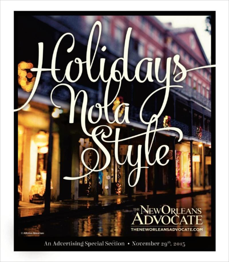 Holidays Nola Style Gift Guide